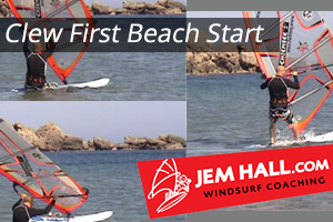Clew First Beach Start