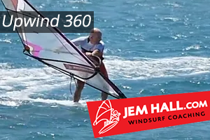 Windsurfing Up Wind 360